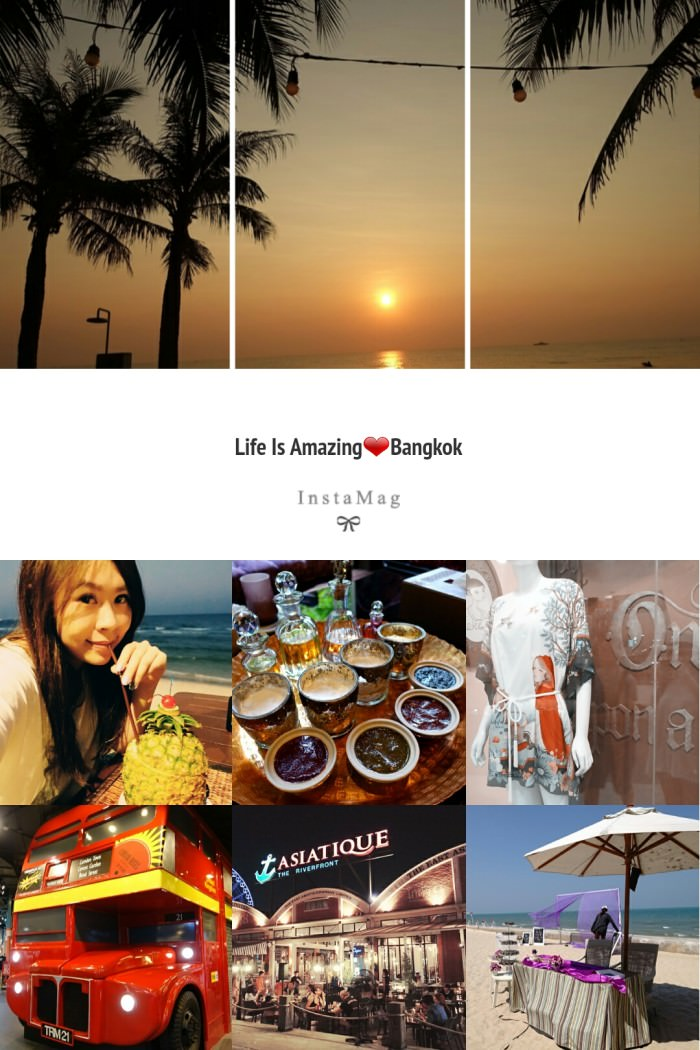 【15曼谷華欣.度假趣】- 想念曼谷的天空和溫度.實際行程、費用、戰利品搶先看