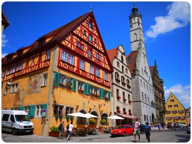 【11 德南.童話國度 】- 散步在夢幻的中古世紀小鎮 羅騰堡Rothenburg (上)
