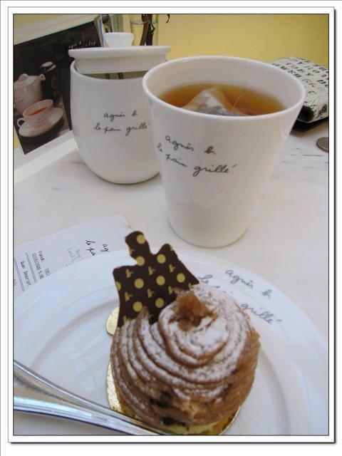 【09香港.雪亮耶誕】- Agnes b. Le Pain Grille 下午茶 @ 中環IFC
