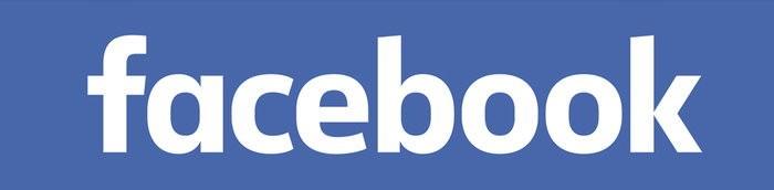 Facebook, LOGO, 橫式