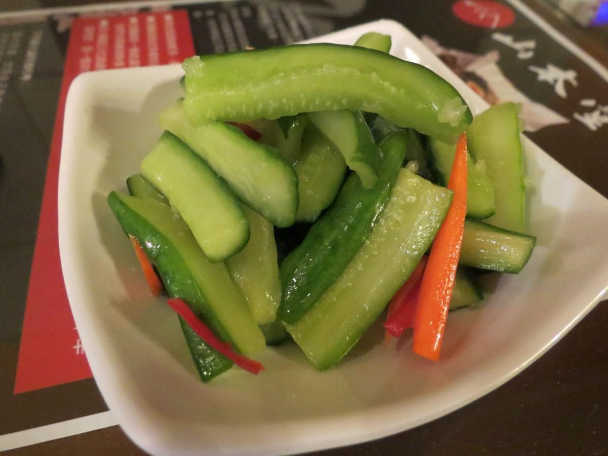 山本堂拉麵鍋@台北店, 小菜