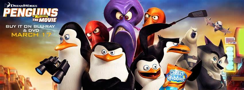 Movie, The Penguins of Madagascar(美國) / 馬達加斯加爆走企鵝(台) /马达加斯加的企鹅(中) / 荒失失企鵝(港), 電影海報, 美國, 橫式