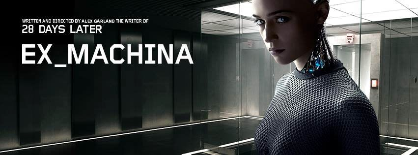 Movie, Ex Machina(英) / 人造意識 & 機械姬(台) / 虛擬智能 & 智能叛侶(港), 電影海報, 美國, 橫式