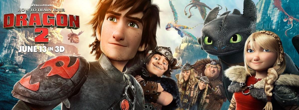 Movie, How to Train Your Dragon 2(美國) / 馴龍高手2(台) / 驯龙高手2(中) / 馴龍記2(港), 電影海報, 美國, 橫式