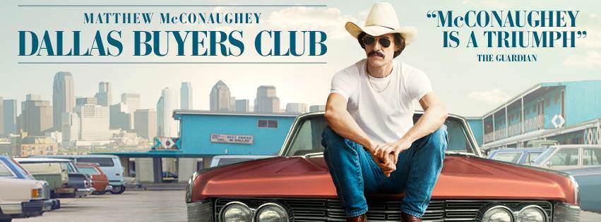 Movie, Dallas Buyers Club(美國) / 藥命俱樂部(台) / 續命梟雄(港) / 达拉斯买家俱乐部(網), 電影海報, 美國, 橫式