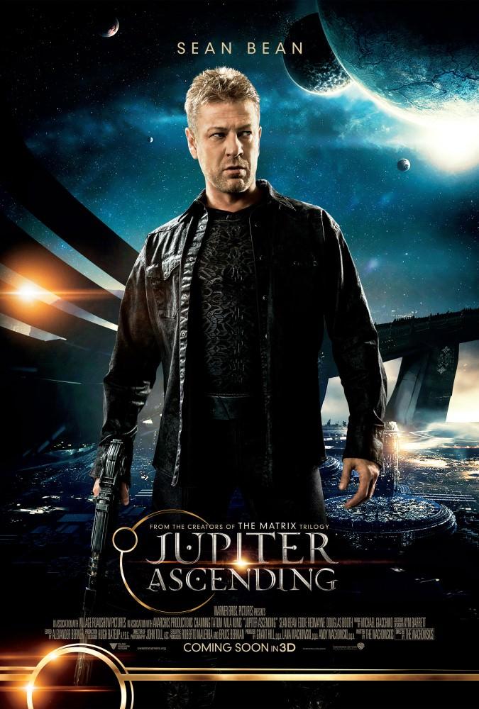 Movie, Jupiter Ascending(美國.英國) / 朱比特崛起(台) / 木星上行(中) / 木昇戰紀(港), 電影海報, 美國