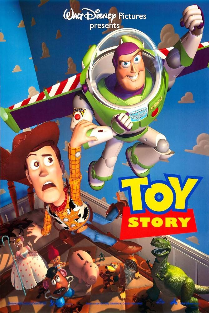 Movie, Toy Story(美國) / 玩具總動員(台) / 玩具总动员(中) / 反斗奇兵(港), 電影海報, 美國