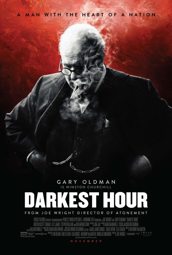 Movie, Darkest Hour(英國) / 最黑暗的時刻(台) / 至暗时刻(中) / 黑暗對峙(港), 電影海報, 美國, 前導