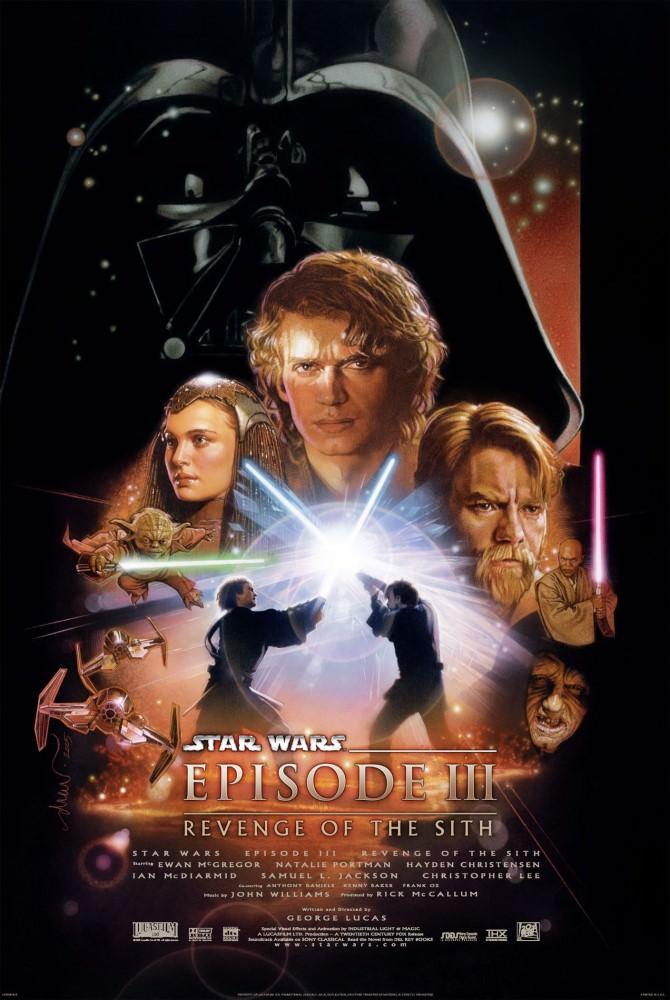Movie, Star Wars Episode III: Revenge of the Sith(美國) / 星際大戰三部曲:西斯大帝的復仇(台) / 星球大战前传:西斯的复仇(中) / 星球大戰前傳:黑帝君臨(港), 電影海報, 美國
