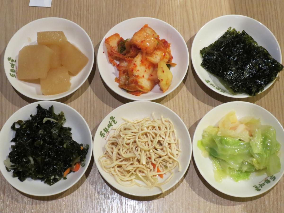 豆腐村@南港店, 餐點, 小菜