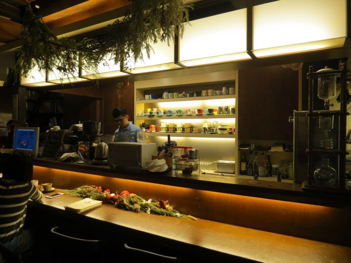 二條通‧綠島小夜曲咖啡廳, 用餐空間