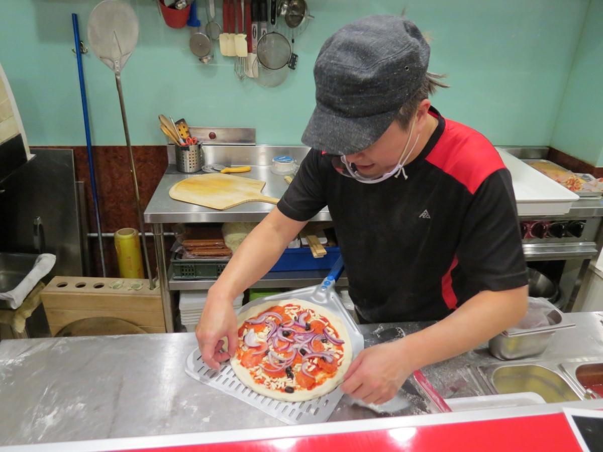 Pizza Mia, 手工披薩製作過程