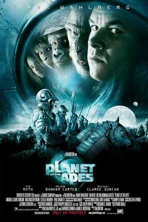 Movie, Planet of the Apes(美國) / 決戰猩球(台) / 猿人爭霸戰(港), 電影海報, 美國
