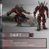 Movie, Transformers: The Last Knight(美國) / 變形金剛5:最終騎士(台) / 变形金刚5:最后的骑士(中) / 變形金剛:終極戰士(港), 角色設定