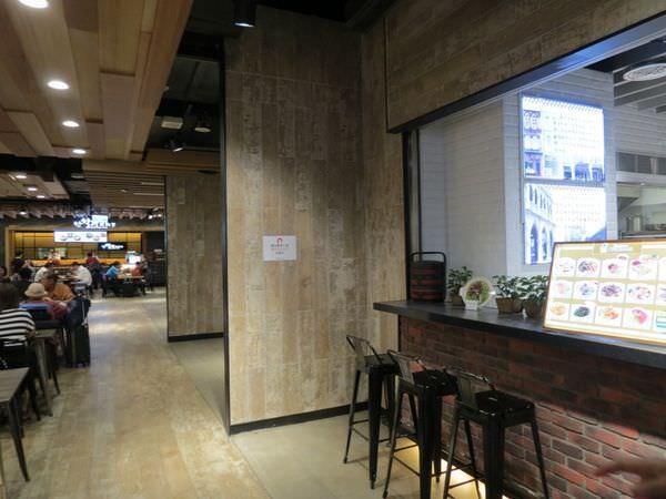 聖加南洋小品@南港環球店, 餐廳環境, 餐具回收