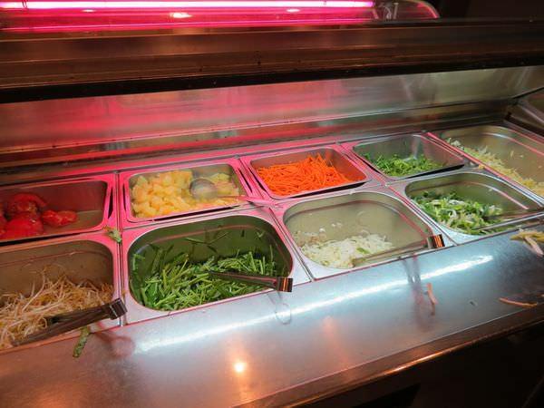 成吉思汗蒙古烤肉, 用餐環境, 蒙古烤肉區