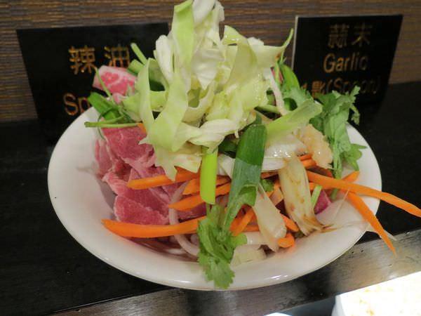 成吉思汗蒙古烤肉, 餐點, 蒙古烤肉