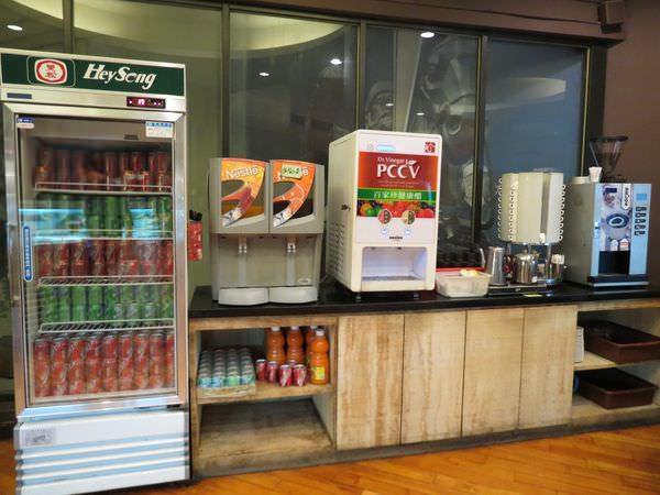成吉思汗蒙古烤肉, 用餐環境, 飲品區