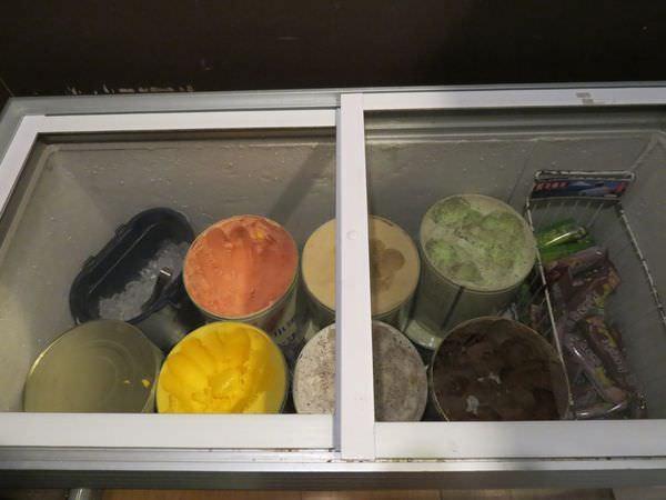 成吉思汗蒙古烤肉, 用餐環境, 冰品區