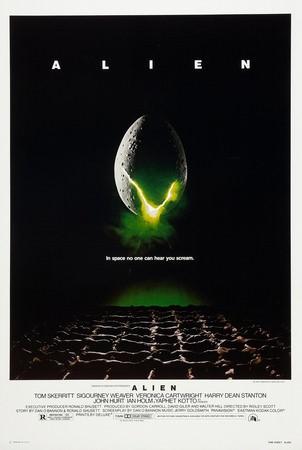 Movie, Alien(英國.美國) / 異形(台.港), 電影海報, 美國