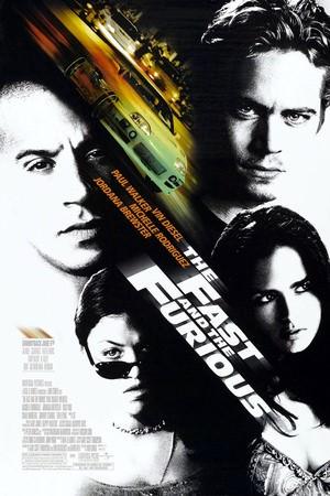 Movie, The Fast and the Furious(美國.德國) / 玩命關頭(台) / 狂野時速(港) / 速度与激情(網), 電影海報, 美國