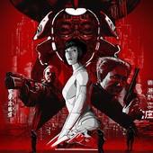 Movie, Ghost in the Shell(美國) / 攻殼機動隊(台.港) / 攻壳机动队(中), 電影海報, 美國