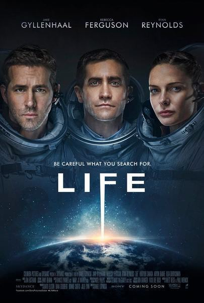 Movie, Life(美) / 異星智慧(台) / 外星生命(港) / 异星觉醒(網), 電影海報, 台灣, 美國