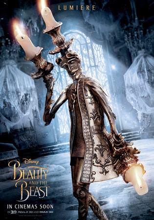 Movie, Beauty and the Beast(美國) / 美女與野獸(台.港) / 美女与野兽(中), 電影海報, 角色海報