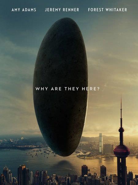 Movie, Arrival(美國) / 異星入境(台) / 降临(中) / 天煞異降(港), 電影海報, 美國, 預告海報(香港)
