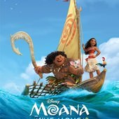 Movie, Moana(美國) / 海洋奇緣(台.中) / 魔海奇緣(港), 電影海報, 美國