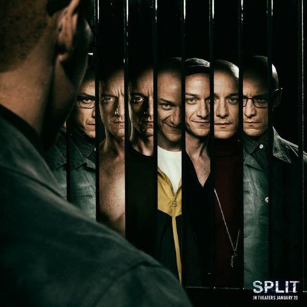 Movie, Split(美國) / 分裂(台) / 思.裂(港), 電影海報, 美國