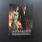 Movie, Allied(美國) / 同盟鶼鰈(台) / 间谍同盟(中) / 伴諜同盟(港), 電影DM(酷卡)