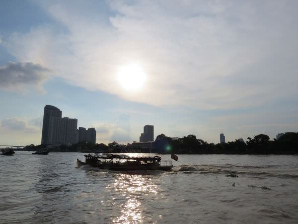 昭披耶河(Chao Phraya River), 泰國, 曼谷市