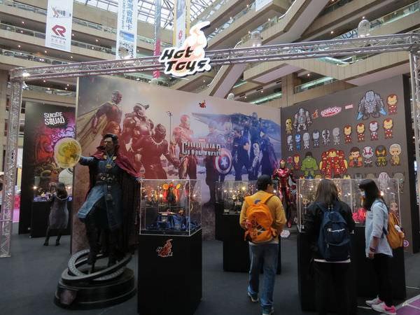 2016台北電影玩具展, Hot Toys, 展區