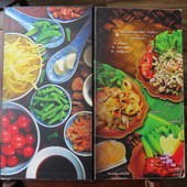 天降財富河畔餐廳(ร้านลาภลอย ยอดพิมาน), 點菜單(menu)