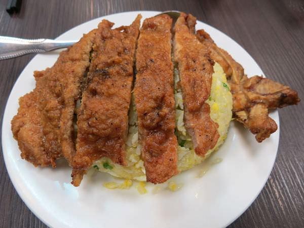 五草車中華麵食館@模範總店, 餐點, 排骨蛋炒飯