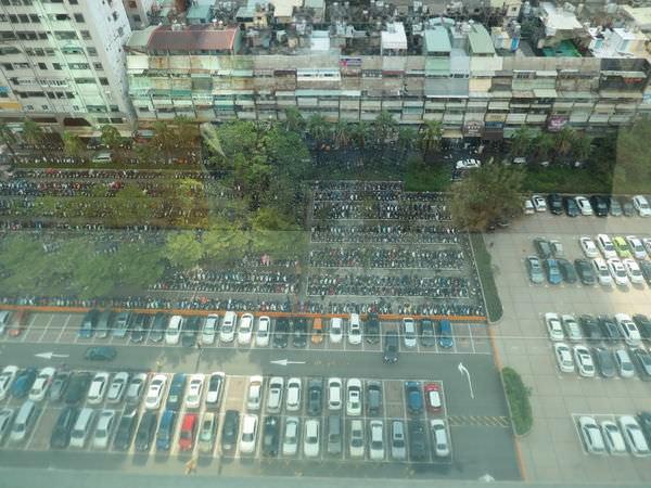 高雄大遠百威秀影城, 樓層介紹, 停車場