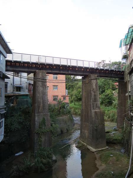 平溪老街, 鐵道橋