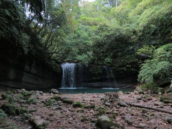 望古瀑布, 第二層