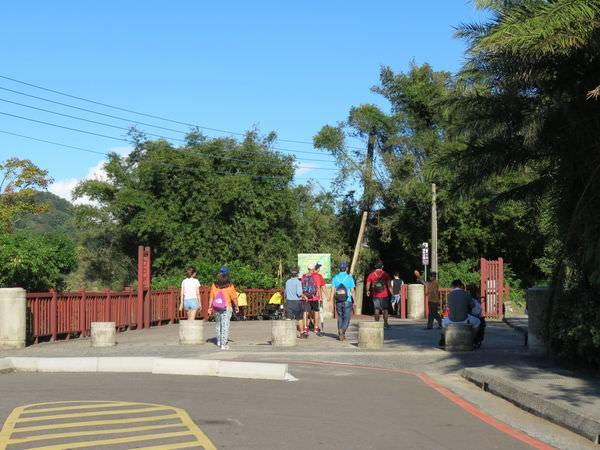 十分瀑布公園, 木棧道入口