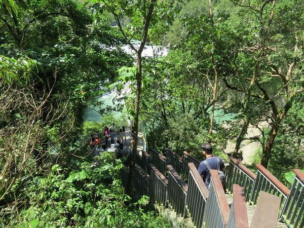 十分瀑布公園, 觀瀑步道區