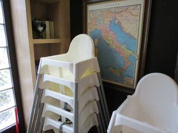 排排饌@三多店, 環境, 兒童椅