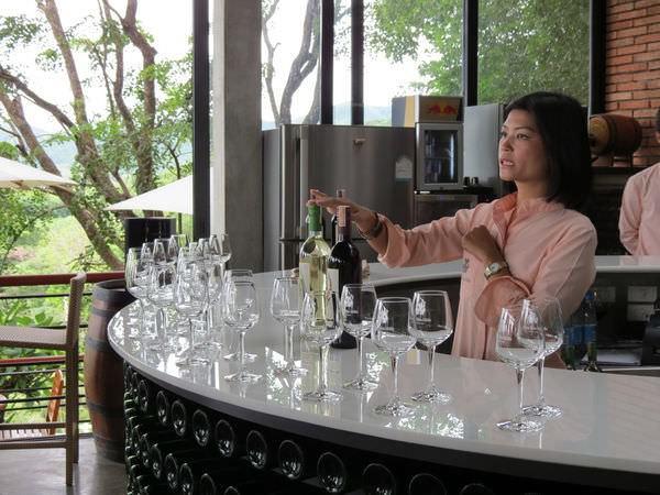 華欣葡萄園酒莊(Hua Hin Hills Vineyard), 產品, 葡萄酒