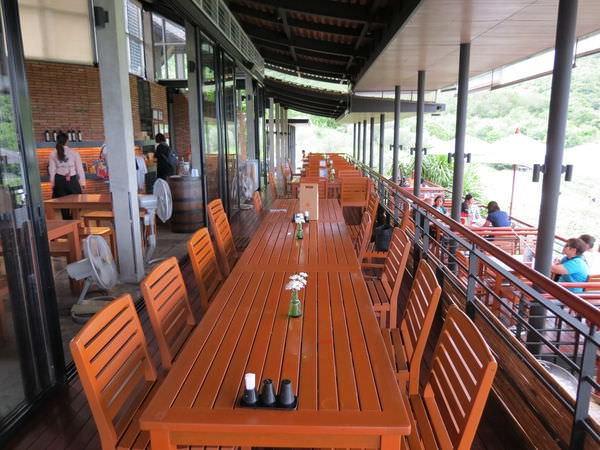 華欣葡萄園酒莊(Hua Hin Hills Vineyard), 用餐環境