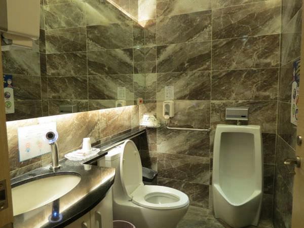 悅庭牙醫診所, 廁所