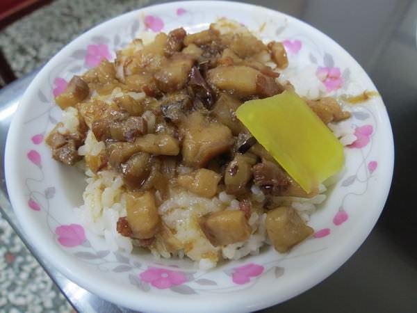 建丞生炒鴨肉羹, 餐點, 魯肉飯(小)
