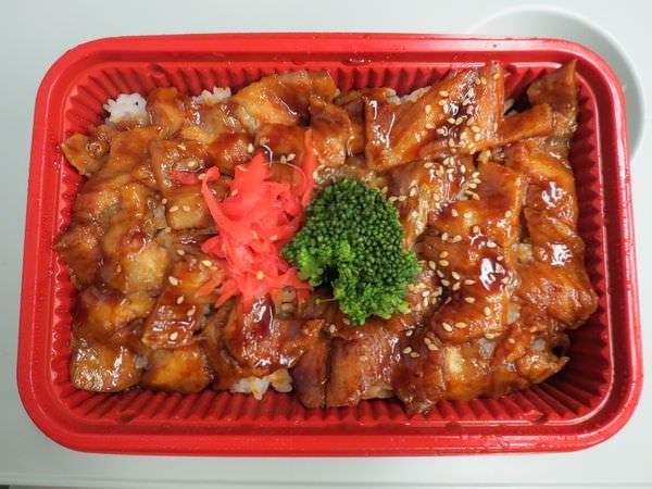平田驛便當@南港店, 餐點, 蒲燒白身魚腹丼