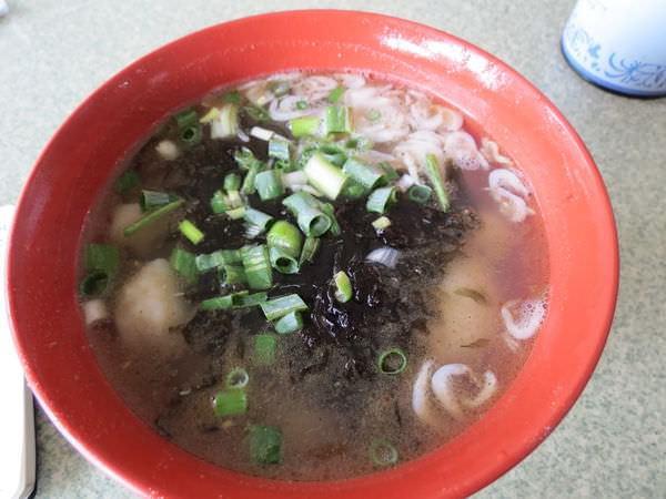 魚之鄉魚麵行, 餐點, 1號(魚麵+魚丸+魚餃)