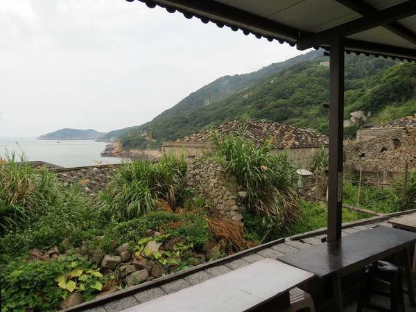 鏡沃小吃部, 用餐環境, 海景