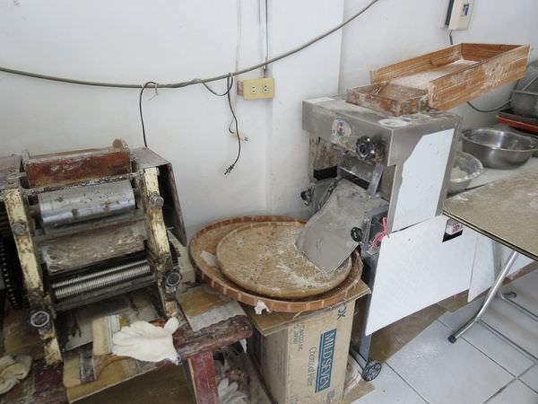 阿婆魚麵, 製麵機